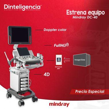 mindray dc40 rojo